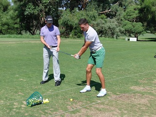 Professional golf lessons Melbourne